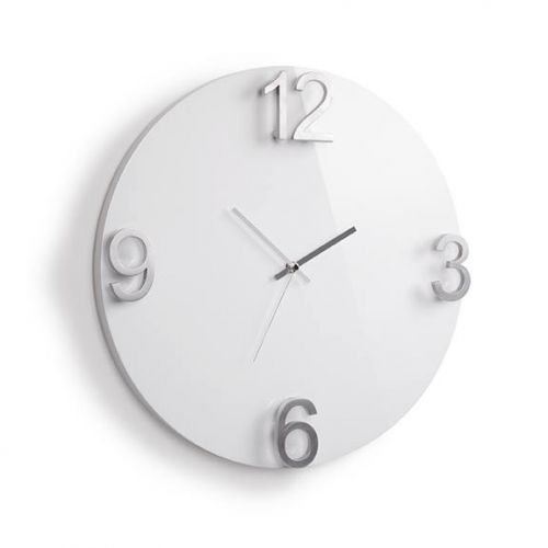 UMBRA ELAPSE WALL CLOCK WHITE