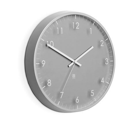 UMBRA PACE WALL CLOCK GRAY