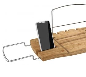 UMBRA AQUALA BATHTUB CADDY NATURAL