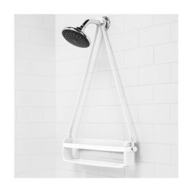 FLEX SNGL SHELF CADDY WHITE