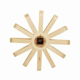 UMBRA RIBBONWOOD WALL CLOCK NATURAL