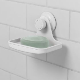 UMBRA FLEX GEL-LOCK SOAP DISH WHITE
