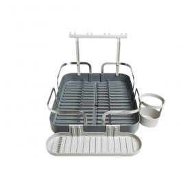 UMBRA HOLSTER DISH RACK CHARCOAL