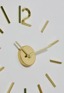 UMBRA BLINK CLOCK BRASS