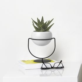UMBRA NESTA PLANTER WHT SPEC