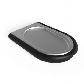 UMBRA LAYDLE SPOON REST BLK/NKL