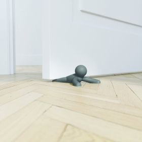 UMBRA BUDDY DOORSTOP SET OF 2 CHARCOAL