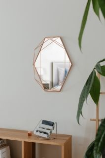 UMBRA PRISMA MIRROR COPPER