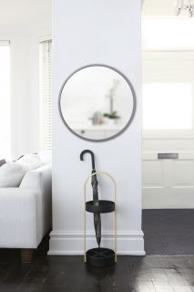 UMBRA HUB MIRROR 24 GREY