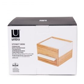 UMBRA STOWIT MINI JWL BOX NATURAL