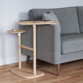 UMBRA SWIVO SIDE TABLE NATURAL
