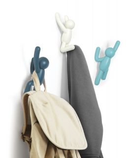 UMBRA BUDDY HOOK (3) BLU DUAL