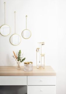 UMBRA TESORA BOX GLASS BRASS