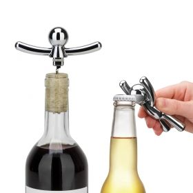 UMBRA BUDDY OPNR+CORKSCREW SET 1/5 CHROME