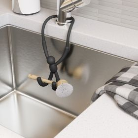 UMBRA BUDDY FLEX SINK CADDY BLACK