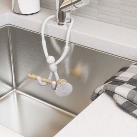 UMBRA BUDDY FLEX SINK CADDY WHITE