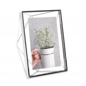 Umbra Prisma 5x7 Picture Frame, Chrome